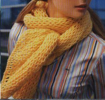 nuevo autentico fabricación hábil apariencia estética Cómo hacer bufandas de punto a dos agujas :: Tejer una ...