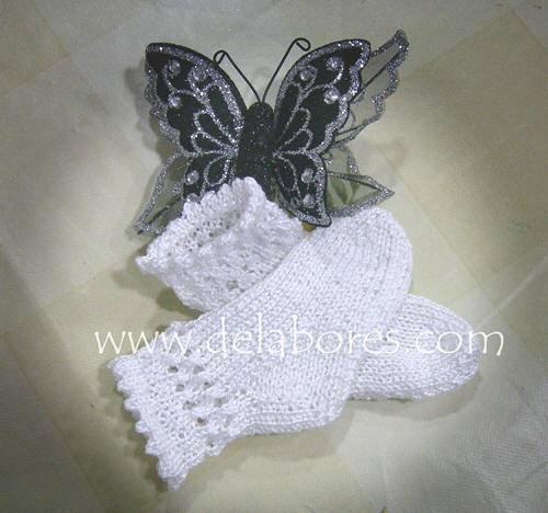 Cómo Tejer Calcetines De Lana Para Bebés Cómo Hacer Calcetines Para Bebé Tejidos A Dos Agujas