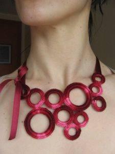 gran ajuste seleccione para el último venta limitada Cómo hacer collares con abalorios de ganchillo :: Collares ...