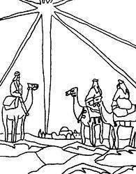 Dibujos De Los Reyes Magos Para Colorear Imágenes De Los